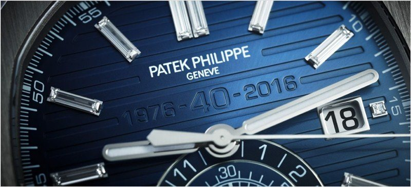 Patek Philippe Nautilus 40th Anniversary Limited Edition 18K White Gold Watch 5976.1G-001 Watch Review 3
