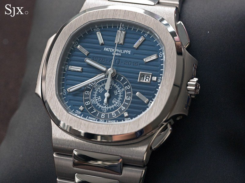 Patek Philippe Nautilus 40th Anniversary Limited Edition 18K White Gold Watch 5976.1G-001 Watch Review 2