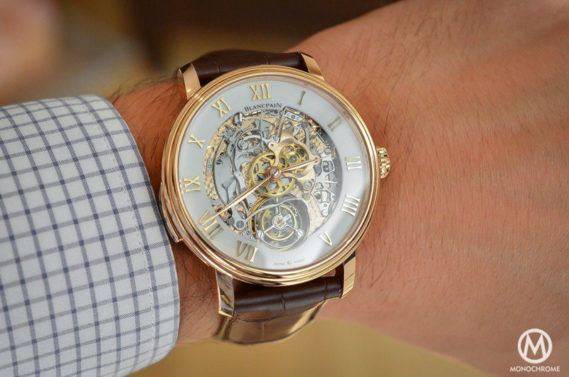 Blancpain Le Brassus Minute Repeater Carousel 0235-3631-55B Watch Review 5