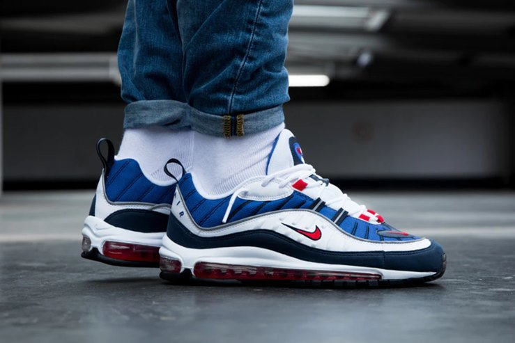 "new product a50f1 e6fe7 Nike Air Max 98 ""Gundam"" Sneakers Review ..."