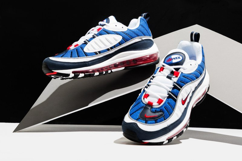"41a1e4837c63 Nike Air Max 98 ""Gundam"" Sneakers Review"