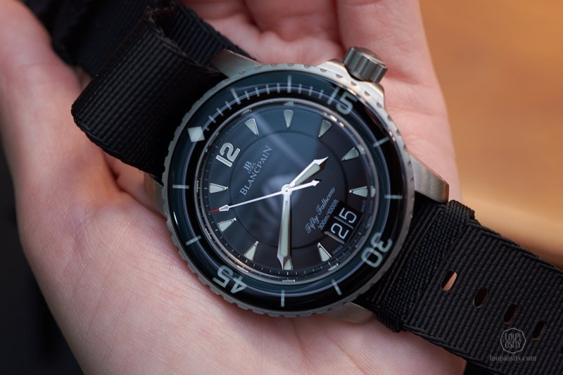 Blancpain Fifty Fathoms Grande Date Watch Review 2
