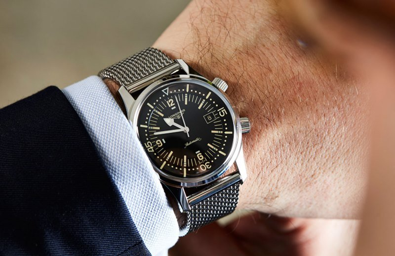Longines 'Legend Diver 36mm' Watch Review
