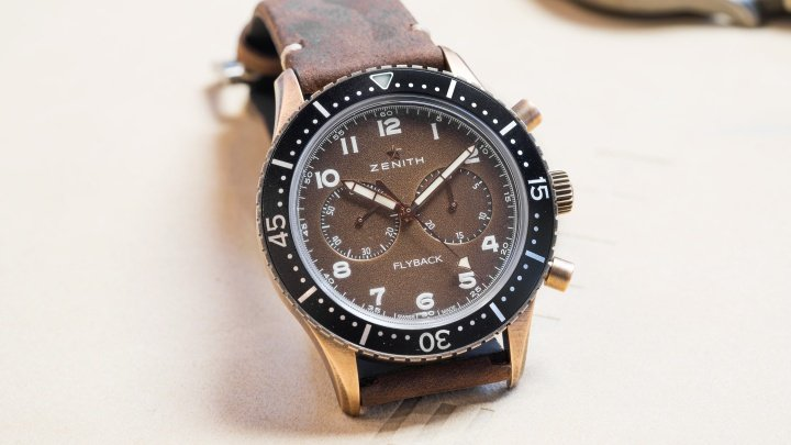 Zenith Pilot Cronometro Tipo CP-2 Flyback Watch Review 1