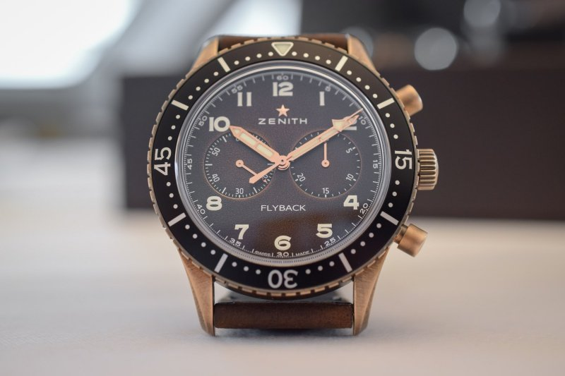 Zenith Pilot Cronometro Tipo CP-2 Flyback Watch Review
