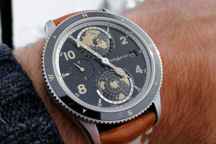 Montblanc 1858 Geosphere Watch Review 2
