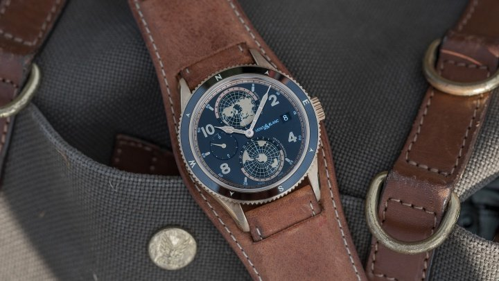 Montblanc 1858 Geosphere Watch Review 1