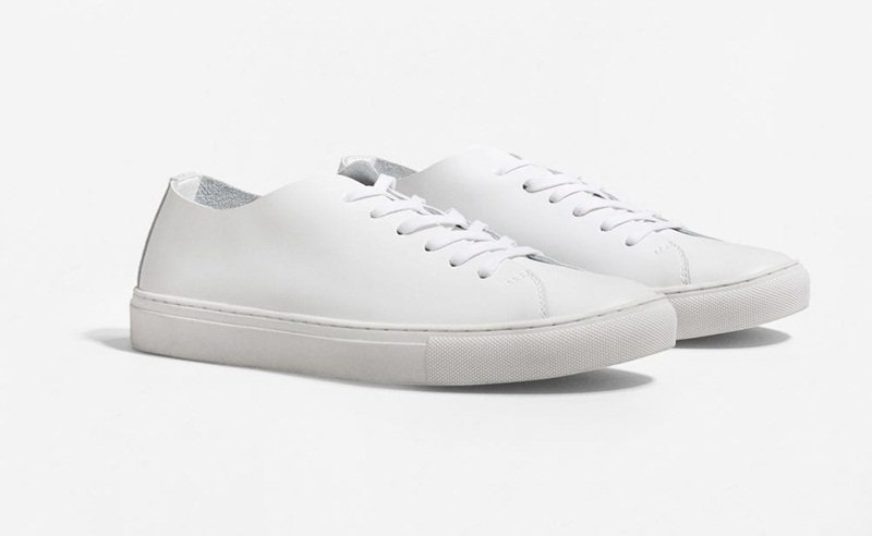 Mango Leather Sneakers Review