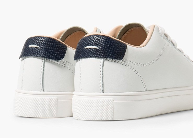 Mango Leather Sneakers Review 3