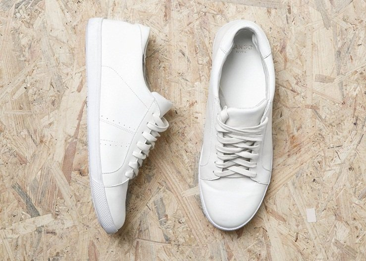 Mango Leather Sneakers Review 2