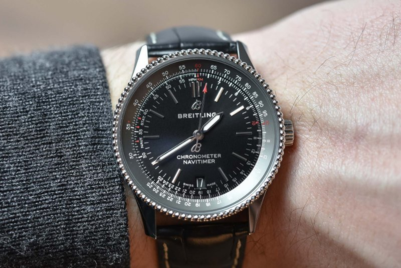 Breitling Navitimer 1 Automatic 38 Watch Review