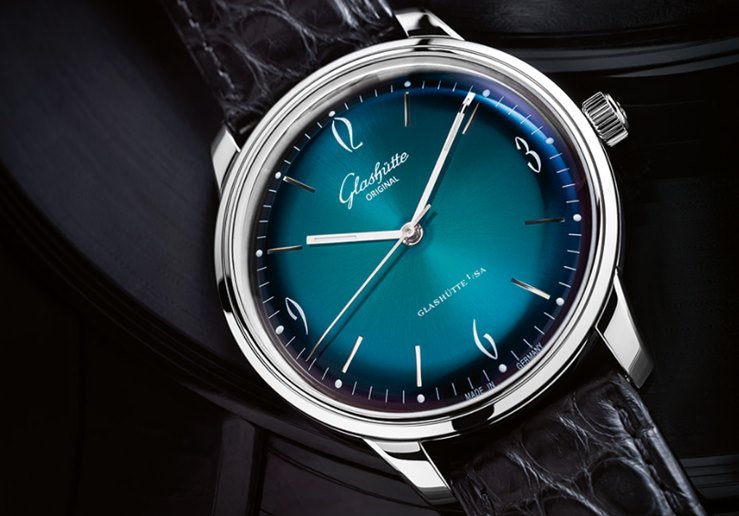 Glashütte Original Sixties with Green Dial Watch Review 4