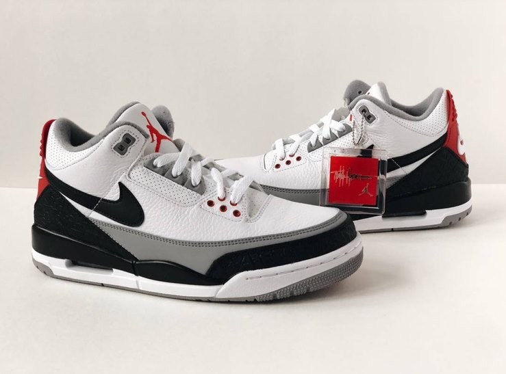 the latest dd3f1 ccfd7 Nike Air Jordan 3 JTH (Justin Timberlake/Tinker Hatfield ...