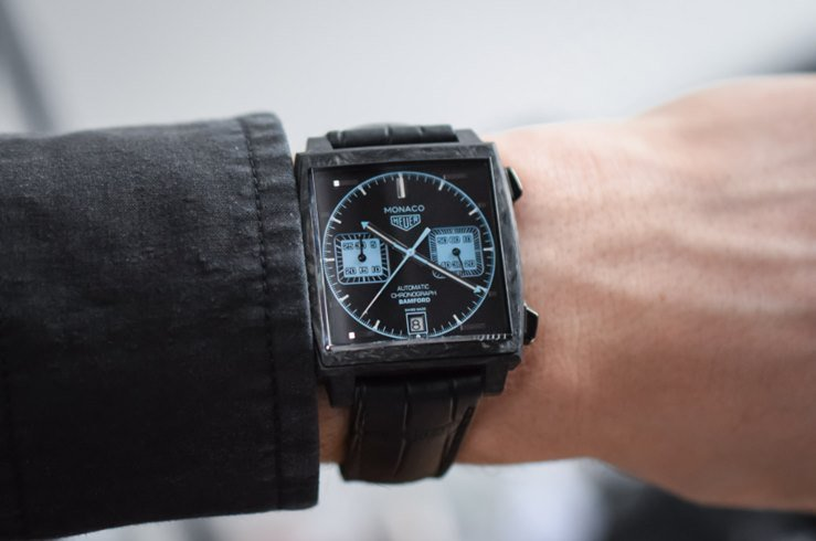 Tag Heuer Monaco by Bamford Watch Department Watch Review 4