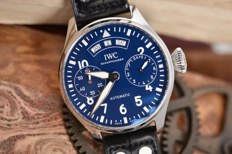 IWC Big Pilot's Watch Annual Calendar 150-Years Edition Watch Review