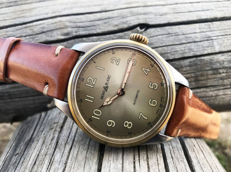Montblanc 1858 Automatic Watch Review 4