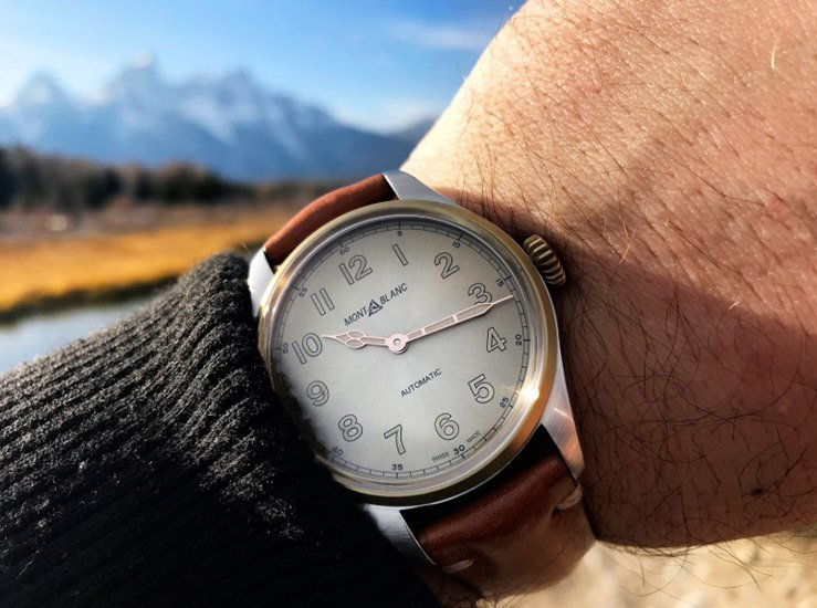 Montblanc 1858 Automatic Watch Review 2