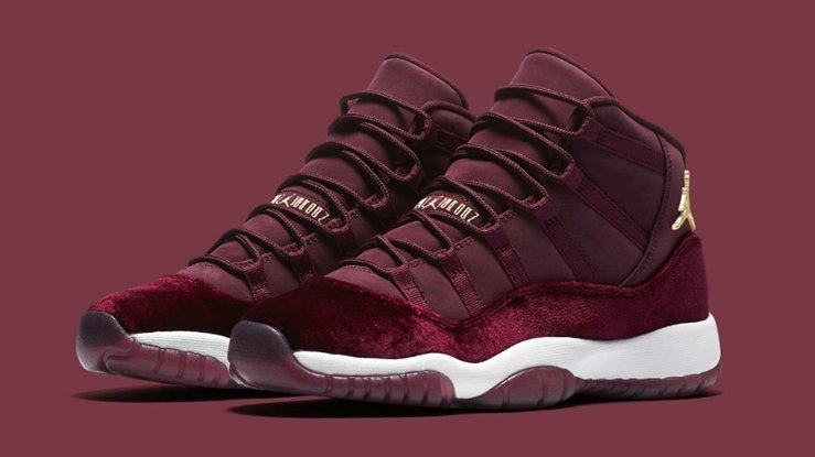 Air Jordan 11 Velvet Night Maroon Review