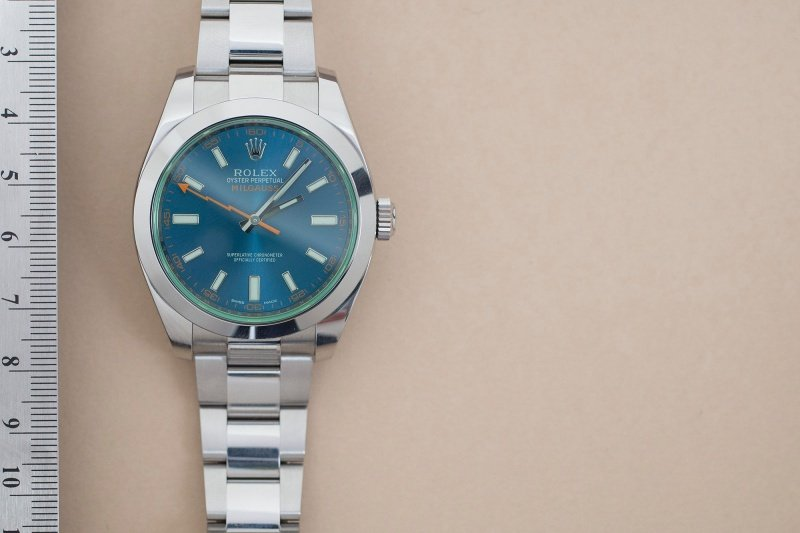 Rolex Milgauss Z,Blue Edition 116400GV Watch Review