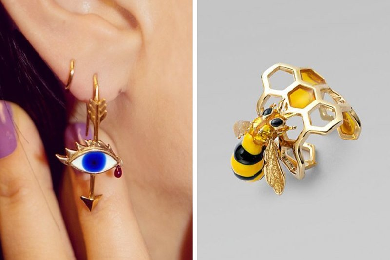 Delfina Delettrez Jewelry - The Eye and the Bee collection