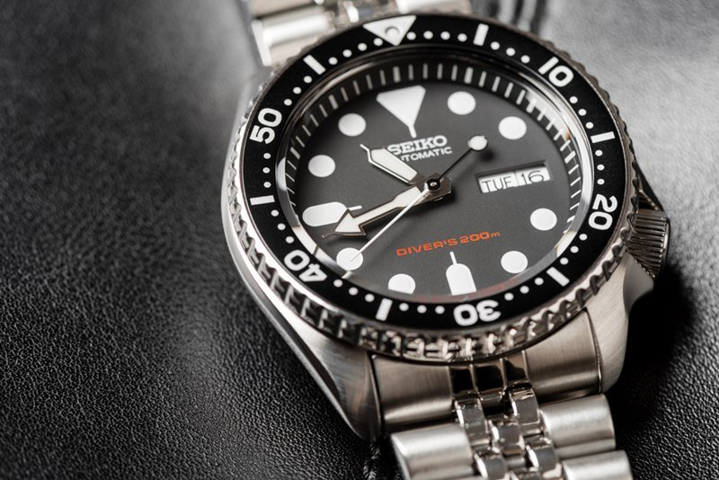 Seiko SKX007 with 7S26 movement