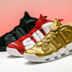 Nike x Supreme Air More Uptempo Sneakers Review