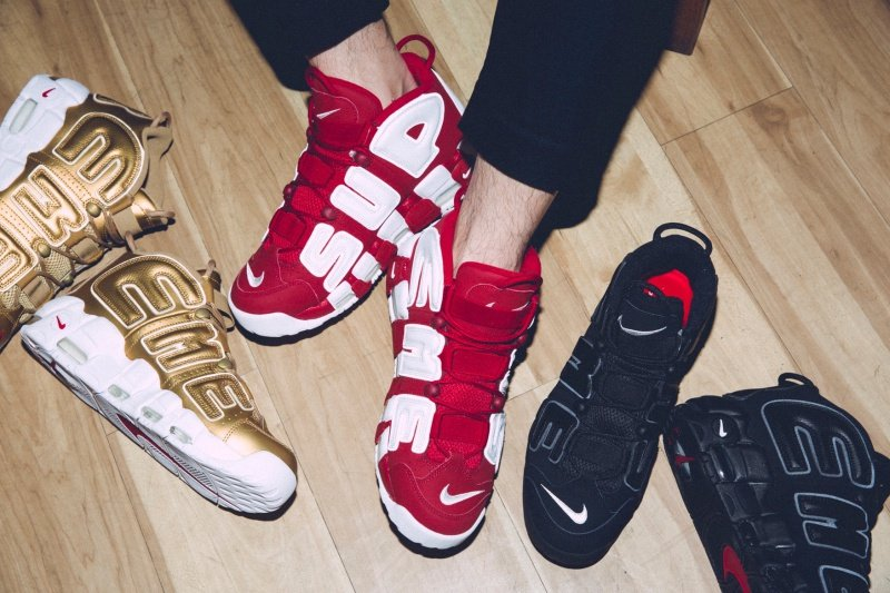Nike x Supreme Air More Uptempo Sneakers Review 6