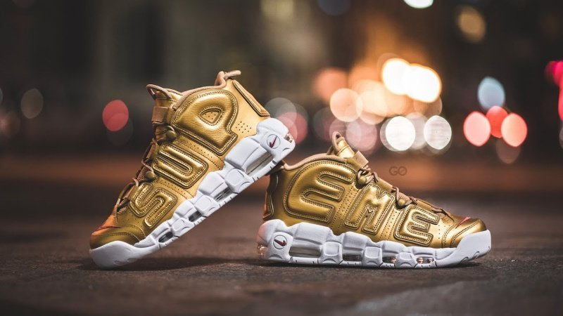 Nike x Supreme Air More Uptempo Sneakers Review 4
