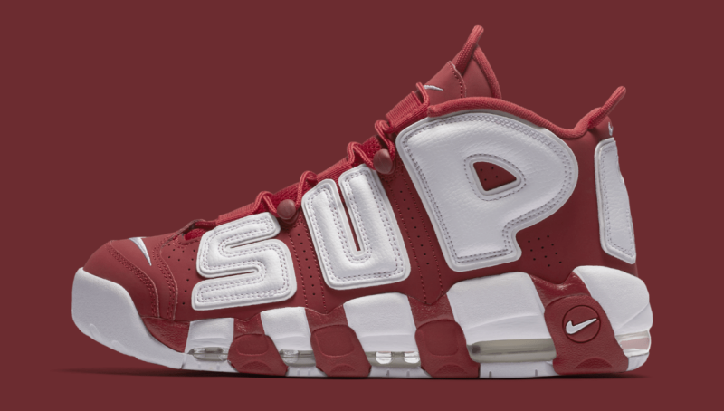 Nike x Supreme Air More Uptempo Sneakers Review 2