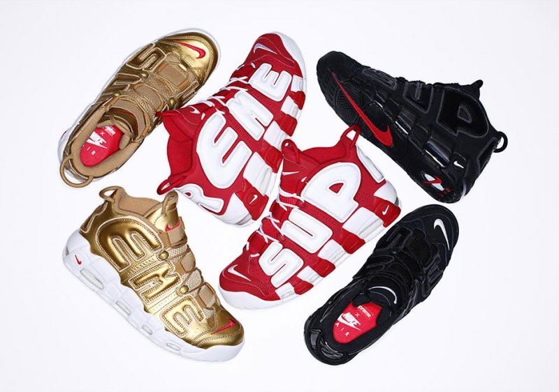 new concept 16c10 c8005 Nike x Supreme Air More Uptempo Sneakers Review 1