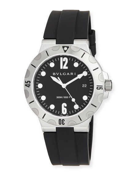 Diagono SCUBA Watch, Black