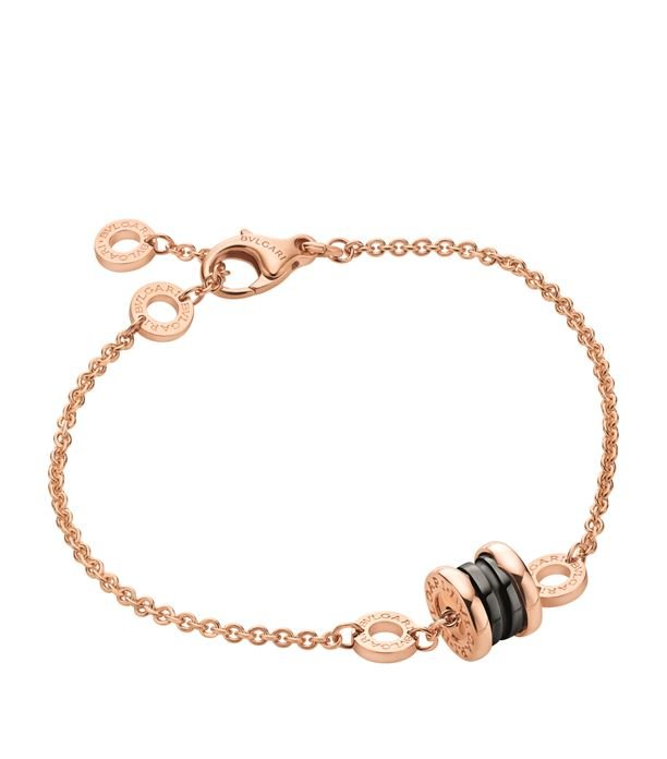 B.zero1 Rose Gold Bracelet with Pendant