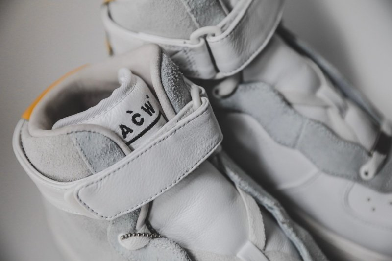 NikeLab x A-Cold-Wall Air Force 1 High Sneakers Review 4
