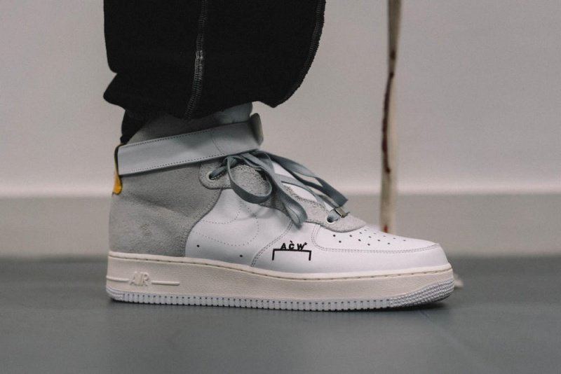 NikeLab x A-Cold-Wall Air Force 1 High Sneakers Review 3