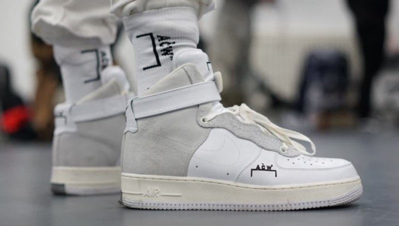 NikeLab x A-Cold-Wall Air Force 1 High Sneakers Review 1