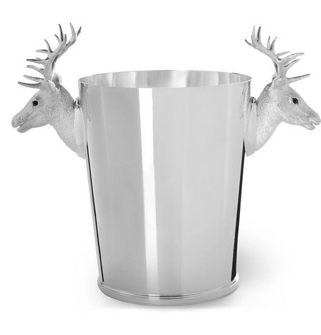 Stag Sterling Silver Champagne Cooler