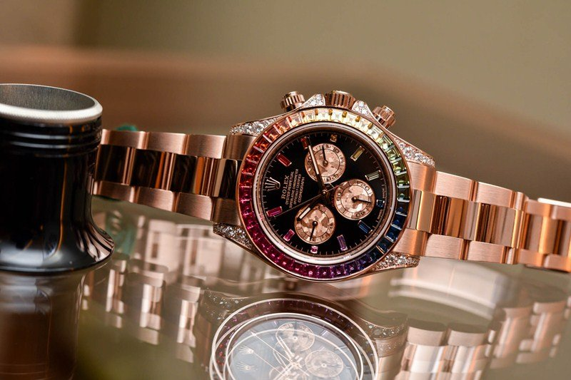 Rolex Oyster Perpetual Cosmograph Daytona 'Rainbow' Watch Review