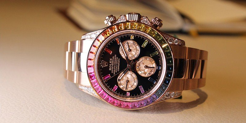 Rolex Oyster Perpetual Cosmograph Daytona 'Rainbow' Watch Review 7