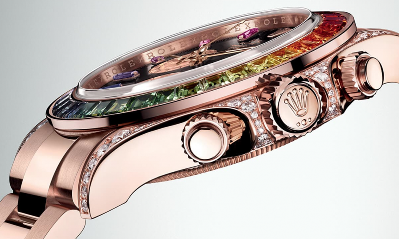 Rolex Oyster Perpetual Cosmograph Daytona 'Rainbow' Watch Review 6