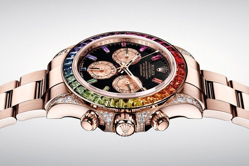 Rolex Oyster Perpetual Cosmograph Daytona 'Rainbow' Watch Review 5