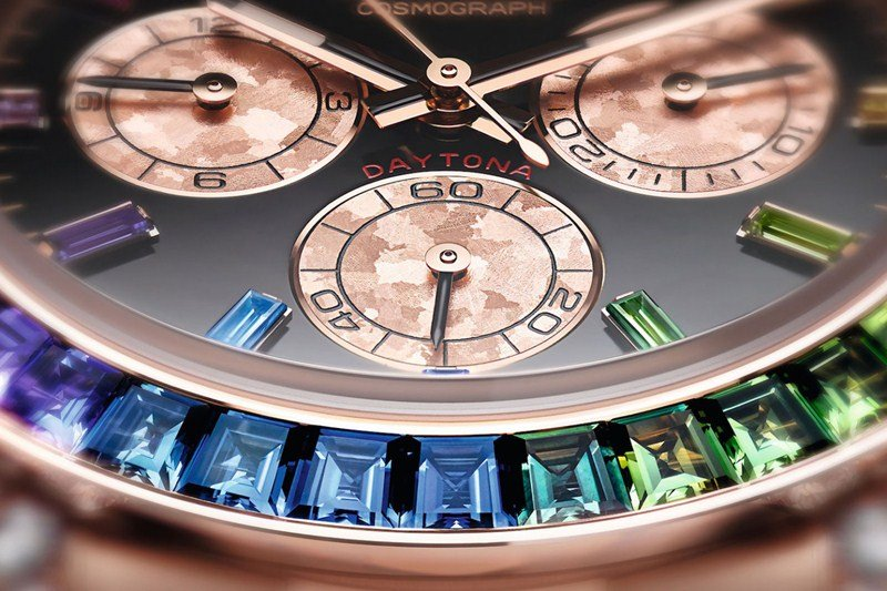 Rolex Oyster Perpetual Cosmograph Daytona 'Rainbow' Watch Review 4