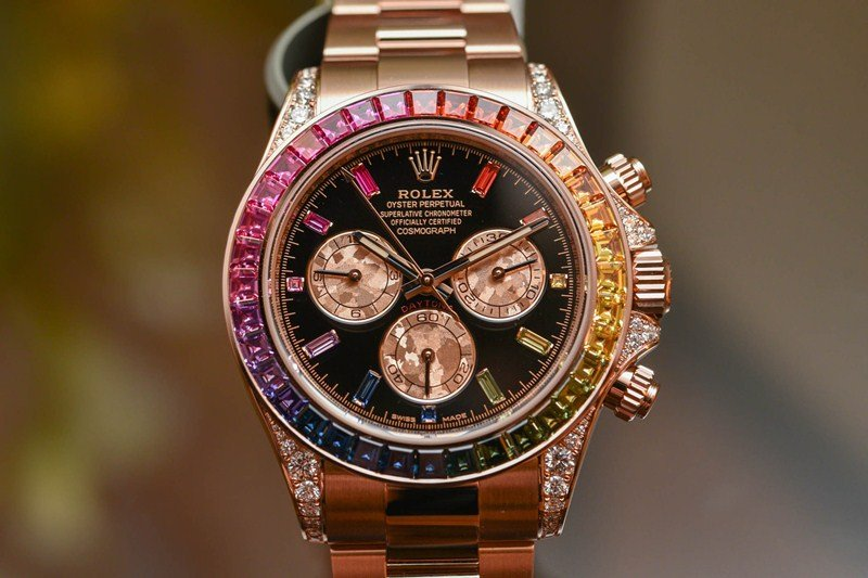 Rolex Oyster Perpetual Cosmograph Daytona 'Rainbow' Watch Review 2