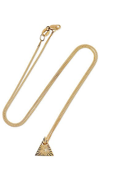 NATASHA SCHWEITZER Aether Element 9-karat gold necklace