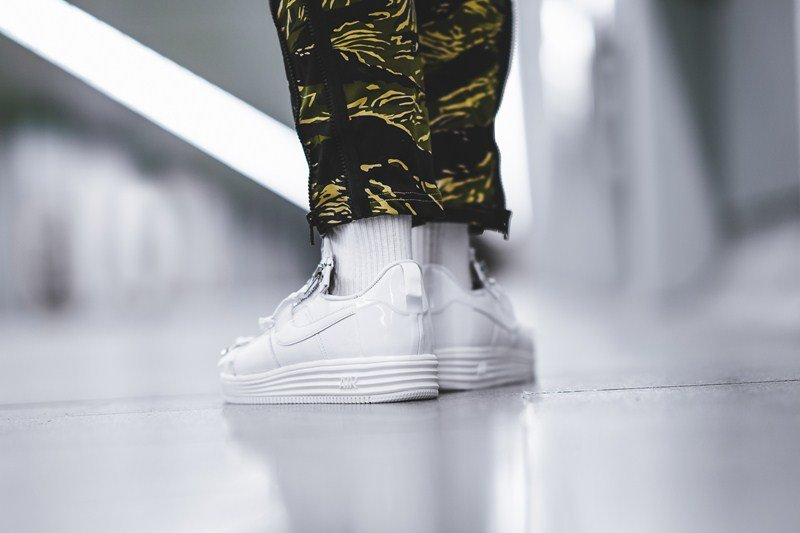 Nike x Acronym Lunar Force 1 Sneakers Review 6