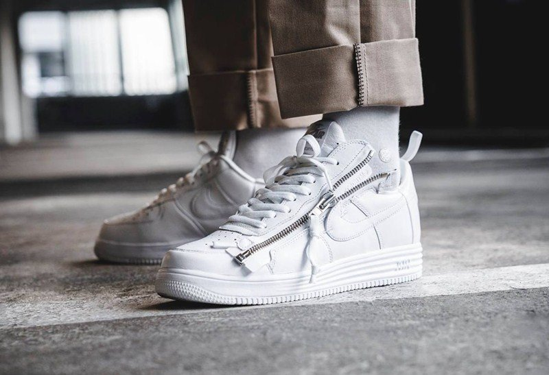 Nike x Acronym Lunar Force 1 Sneakers Review 2