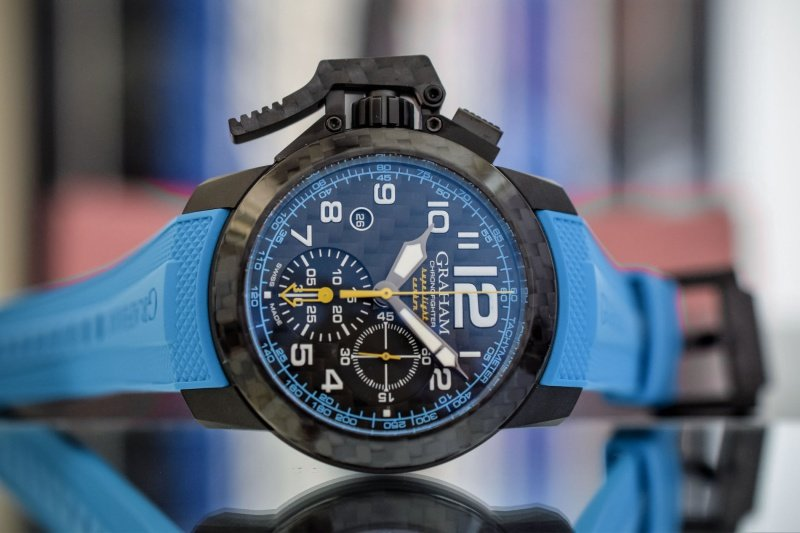 Graham Chronofighter Superlight Carbon Watch Review