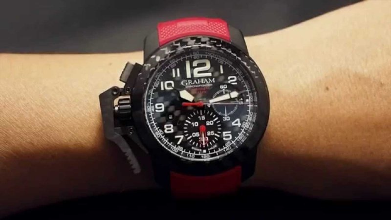 Graham Chronofighter Superlight Carbon Watch Review 6