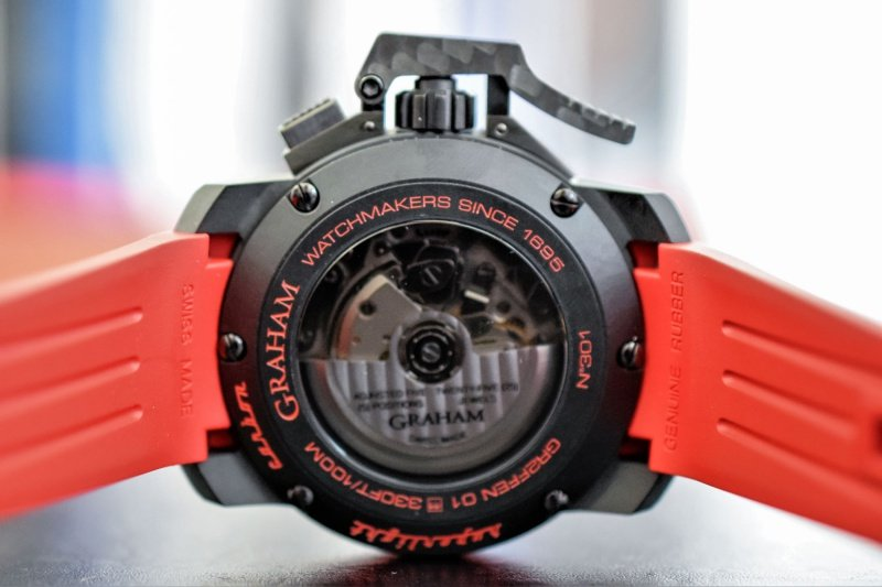 Graham Chronofighter Superlight Carbon Watch Review 5