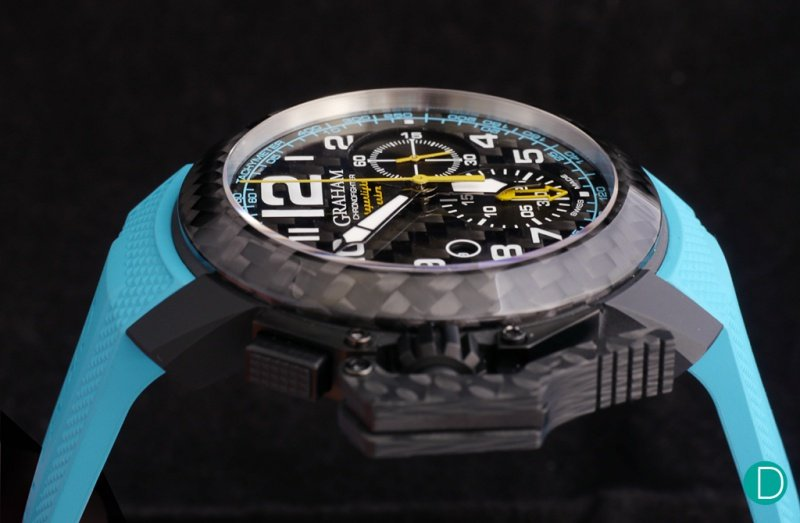Graham Chronofighter Superlight Carbon Watch Review 4