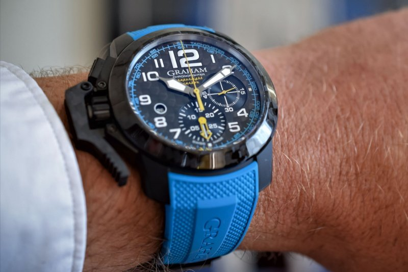 Graham Chronofighter Superlight Carbon Watch Review 3